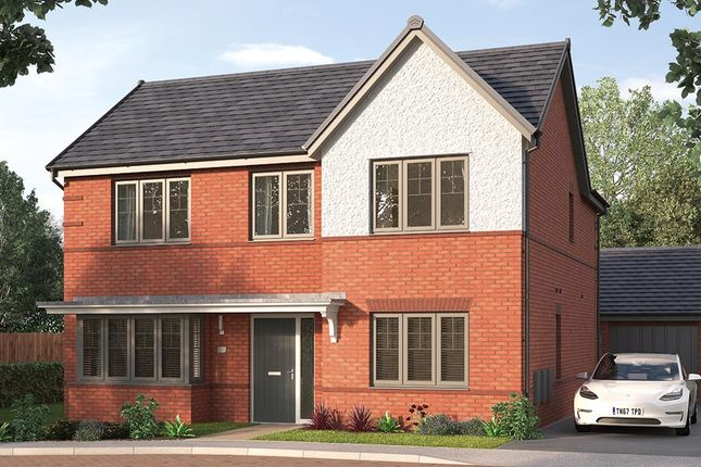 "4 bed property for sale in ""The Modbury"" at Tom Blower Close, Wollaton, Nottingham NG8"