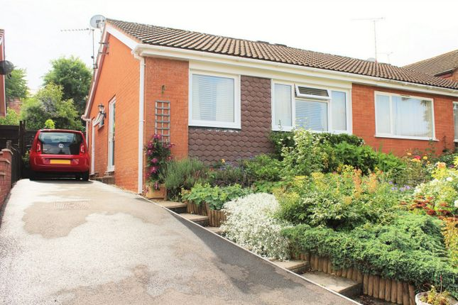 Thumbnail Semi-detached bungalow for sale in Poundisford Close, Taunton, Somerset