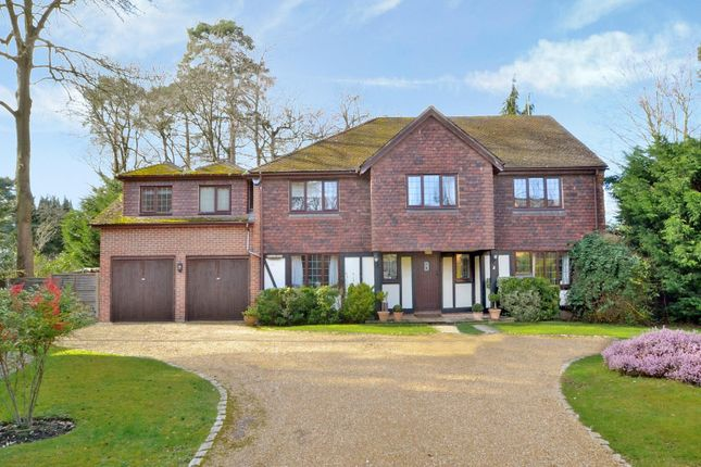 Thumbnail Detached house for sale in Timber Close, Pyrford