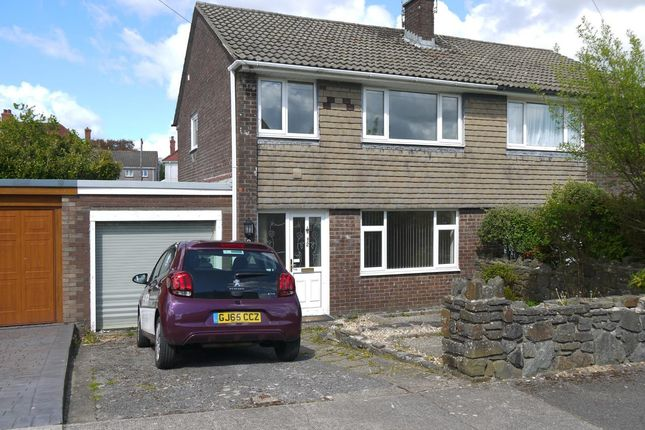 Thumbnail Semi-detached house to rent in Springfield Avenue, Upper Killay, Swansea