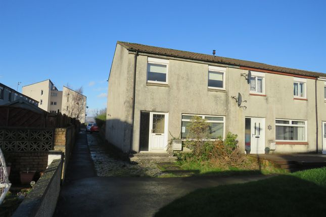 Thumbnail End terrace house for sale in Braidwood Place, Linwood, Paisley