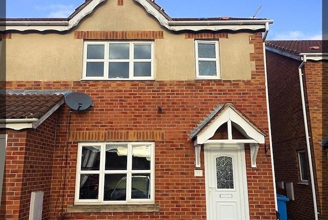 Thumbnail End terrace house for sale in Mast Drive, Hull