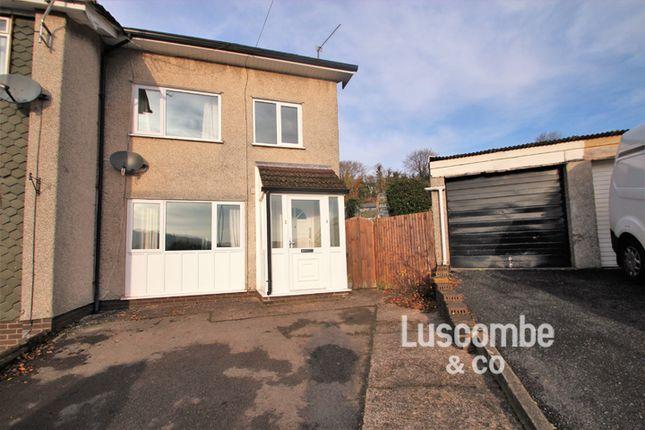Thumbnail Semi-detached house to rent in Llyswen, Machen, Caerphilly
