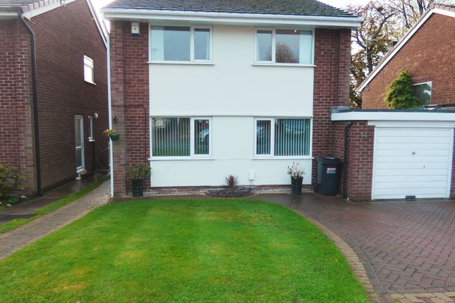Thumbnail Link-detached house for sale in Branden Drive, Knutsford