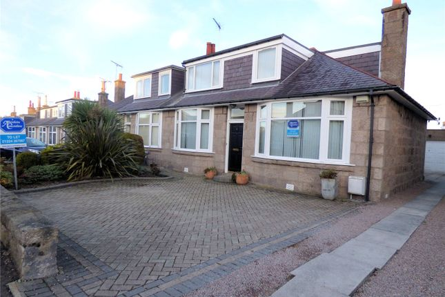 Thumbnail Semi-detached house to rent in 6 Seafield Crescent, Aberdeen