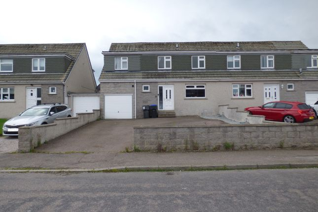 Thumbnail Semi-detached house for sale in Fern Place, Portlethen, Aberdeen, Aberdeenshire