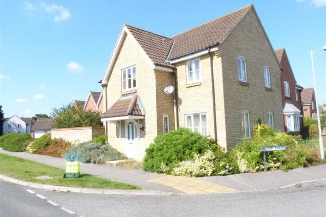 Thumbnail Detached house to rent in Wilkinson Drive, Kesgrave, Ipswich
