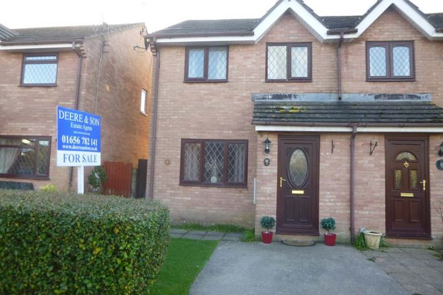 Thumbnail Semi-detached house to rent in George Thomas Close, Porthcawl