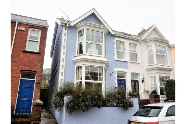 5 bed semi-detached house for sale in Queens Road, Mumbles