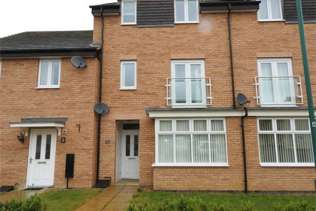 Thumbnail Terraced house to rent in Fletcher Way, Peterborough, Cambridgeshire