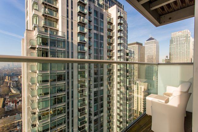 Balcony of Pan Peninsula Square, East Tower, Canary Wharf E14