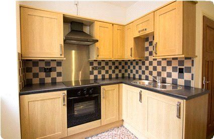 Sample Kitchen of York House, Upper Piccadilly, Bradford, West Yorkshire BD1