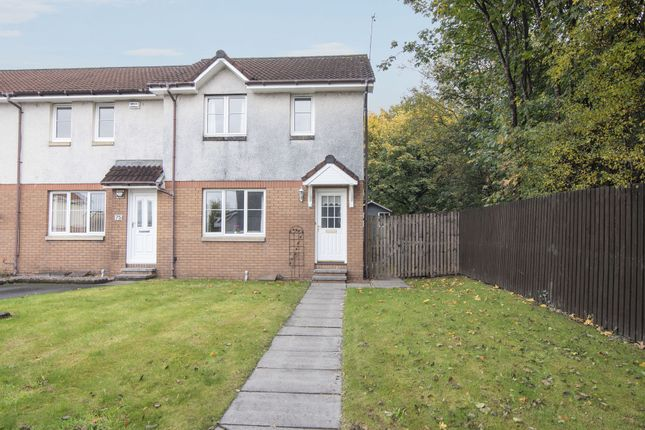Thumbnail End terrace house for sale in Cragganmore, Tullibody, Clackmannanshire