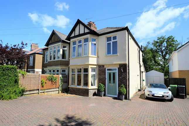 Thumbnail Semi-detached house for sale in Crystal Wood Road, Heath