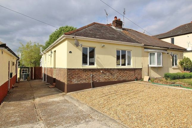 Thumbnail Semi-detached bungalow for sale in Frances Road, Purbrook, Waterlooville