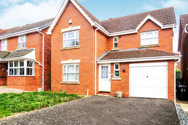 Thumbnail Detached house for sale in Oathill Rise, Burton Latimer, Kettering