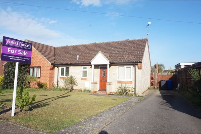 Thumbnail Bungalow for sale in St. Benedicts Road, Brandon