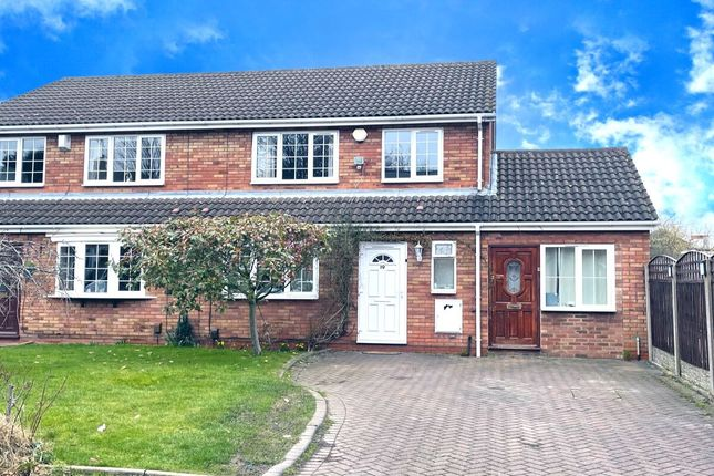 Thumbnail Semi-detached house for sale in Rosemary Road, Stechford, Birmingham