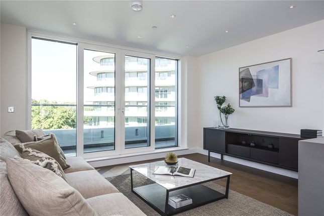 Thumbnail Flat for sale in Altissima House, Chelsea Bridge, London