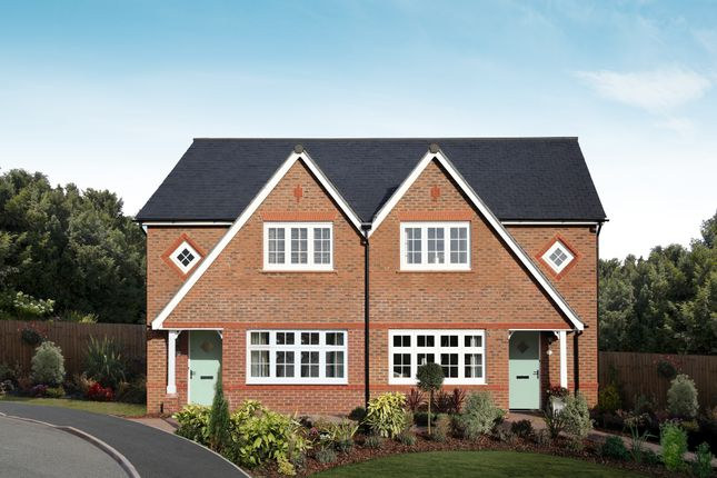 """3 bed semi-detached house for sale in """"Letchworth"""" at Mercian Way, Eagle Drive, Tamworth B77"""