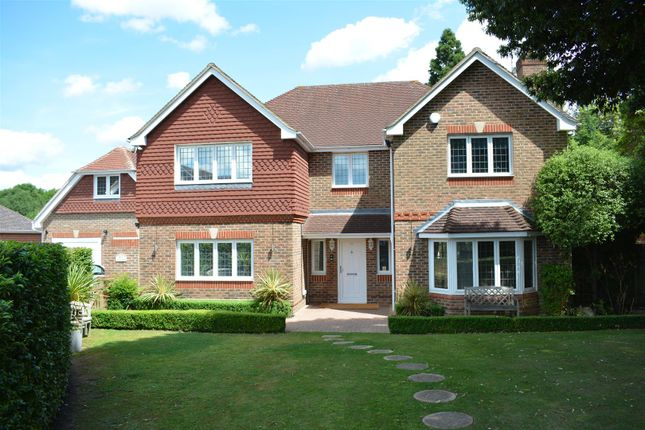 Thumbnail Detached house for sale in Lady Harewood Way, Epsom