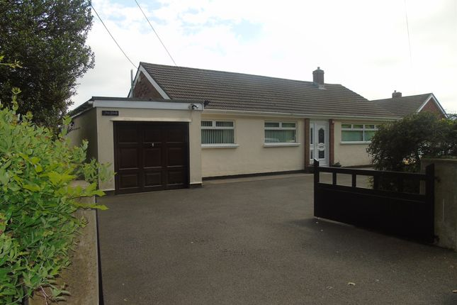 Thumbnail Detached bungalow for sale in Penygarn Road, Penygarn, Pontypool