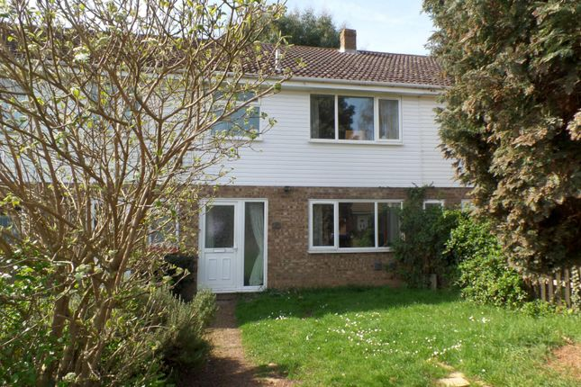 Thumbnail Terraced house to rent in Tithe Avenue, Beck Row, Bury St. Edmunds