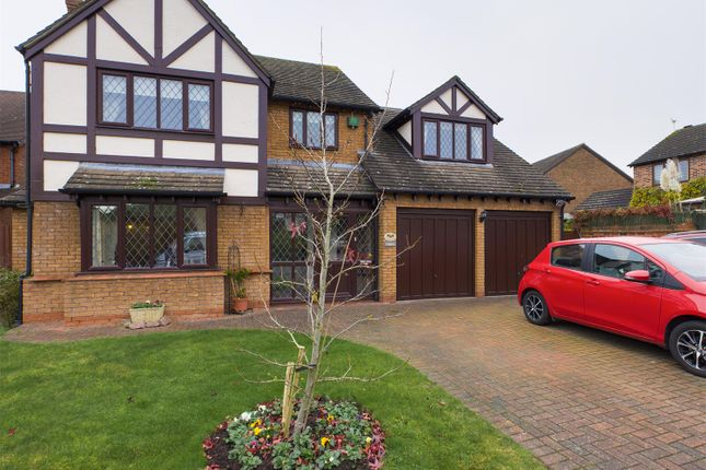 Thumbnail Detached house for sale in Thornton Close, Broughton Astley