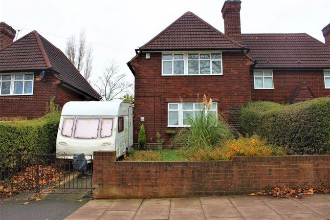 Thumbnail Semi-detached house to rent in Kingstanding Road, Kingstanding, Birminghjam