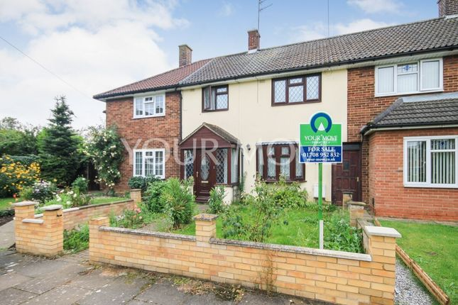 Thumbnail Terraced house for sale in Stapleton Crescent, Rainham