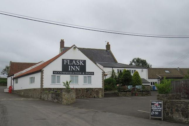 Thumbnail Pub/bar for sale in The Flask Holiday Park, Flyingdales