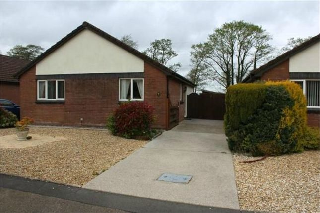 Thumbnail Detached bungalow for sale in Clos Gwernen, Gowerton, Swansea, West Glamorgan