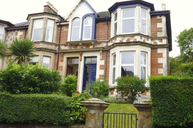 Thumbnail End terrace house for sale in 1A, Mount Pleasant Road, Rothesay, Isle Of Bute
