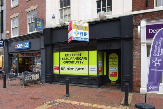 Thumbnail Retail premises to let in 39 Cornmarket, Cornmarket, Derby