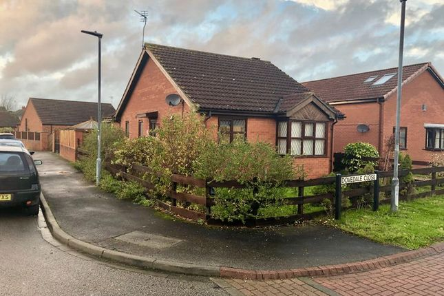Thumbnail Detached bungalow to rent in Dovedale Close, Winterton, Scunthorpe