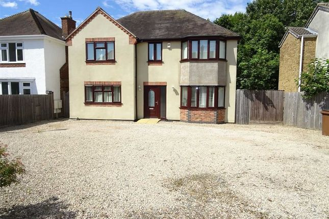 Thumbnail Detached house to rent in Heath Lane, Earl Shilton, Leicester