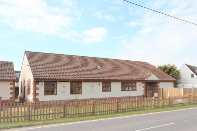 Thumbnail Detached bungalow for sale in Top Road, Tolleshunt Knights, Maldon