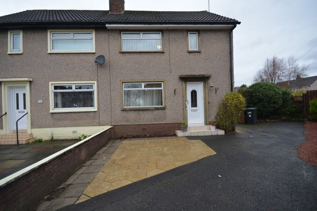 Thumbnail Semi-detached house for sale in Tollerton Drive, Irvine
