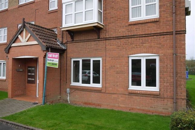 Thumbnail Flat to rent in Lowdale Close, West Hull