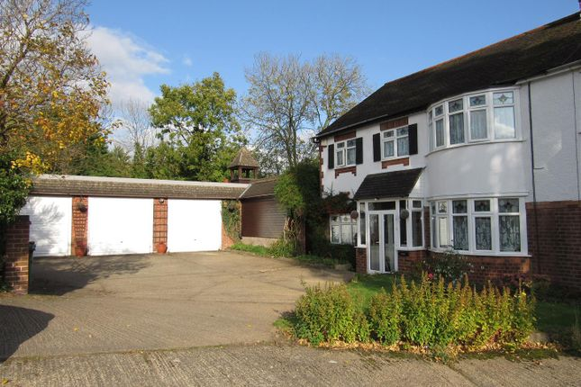 Thumbnail Semi-detached house for sale in The Twitten, Glen Parva, Leicester