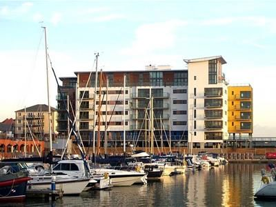 Thumbnail 2 bed flat to rent in Rapala Court, Midway Quay, Sovereign Harbour, Eastbourne