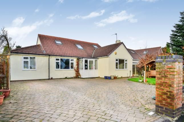 Thumbnail Bungalow for sale in Longacres Road, Hale Barns, Altrincham, Cheshire