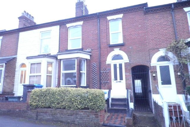 Thumbnail Terraced house to rent in Bury Street, Norwich
