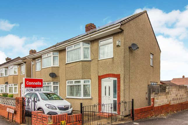 Thumbnail Semi-detached house for sale in Pound Road, Kingswood, Bristol