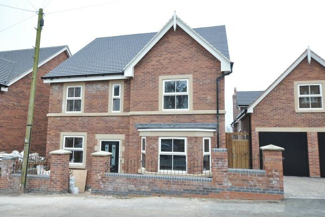 Thumbnail Detached house for sale in Hamilton Road, Burton-On-Trent
