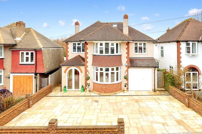Thumbnail Detached house for sale in Castlemaine Avenue, Ewell, Epsom