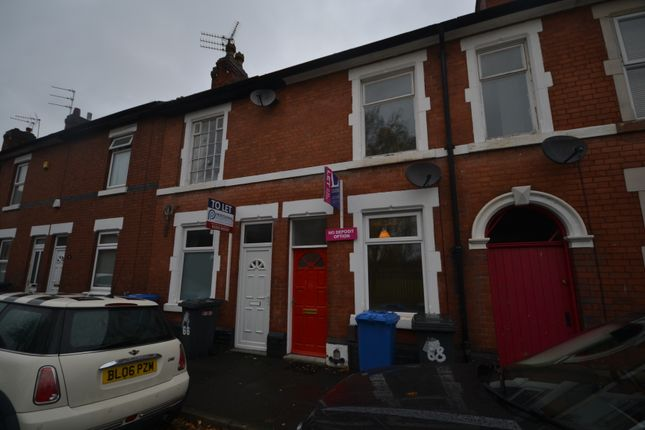 Thumbnail End terrace house to rent in Werburgh Street, Derby