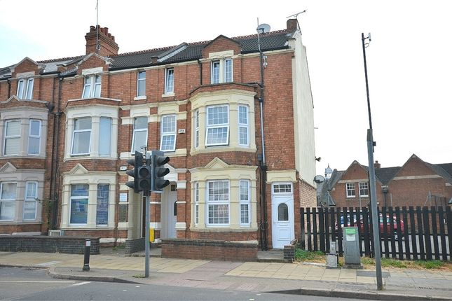 Thumbnail End terrace house for sale in Wellingborough Road, Abington, Northampton