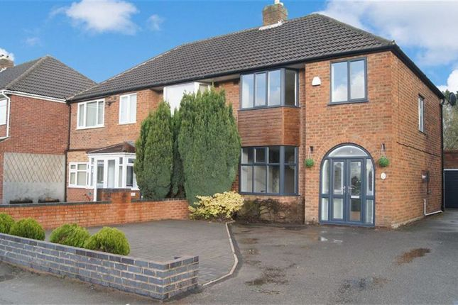 Thumbnail Semi-detached house to rent in Hobs Moat Road, Solihull
