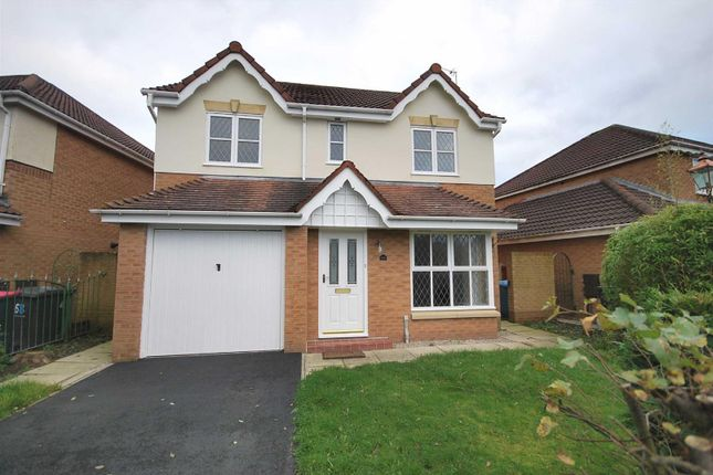 Thumbnail Detached house for sale in Ellerbeck Crescent, Ellenbrook, Worsley